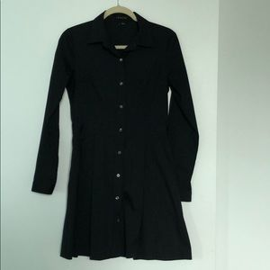 Button down Theory shirt dress